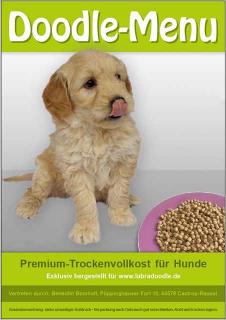 Labradoodle Futter für Labradoodle, Minidoodle und Goldendoodle